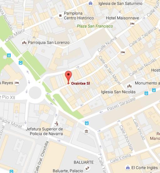 Mensajería Pamplona contacta